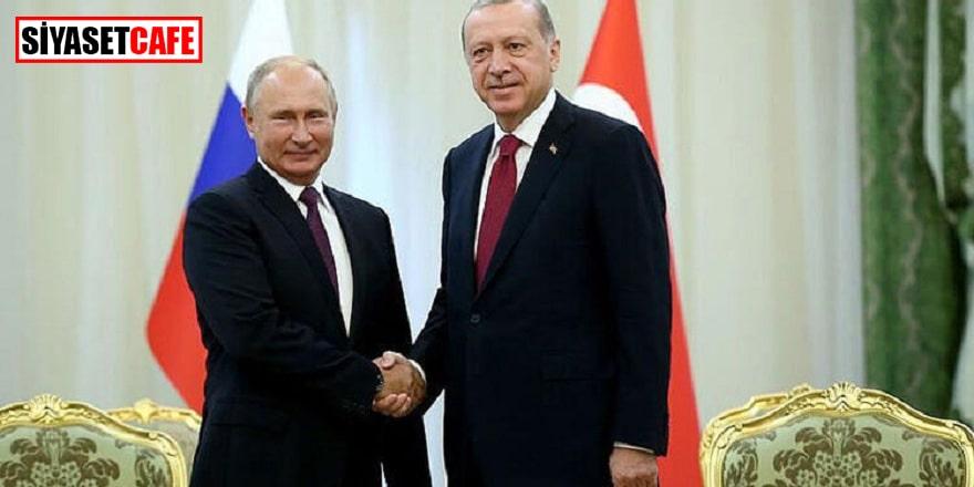 Cumhurbaşkanı Erdoğan, Putin ile Kudüs'ü görüştü!
