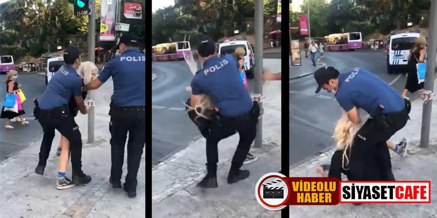 Sosyal medyada infial yaratan görüntülerle ilgili  2 polis görevden uzaklaştırıldı