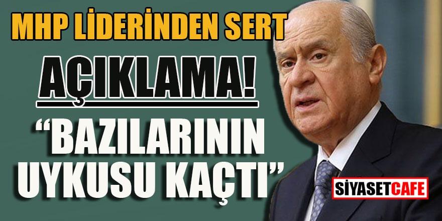 """MHP liderinden sert açıklama: """"Bazılarının uykusu kaçtı!"""""""