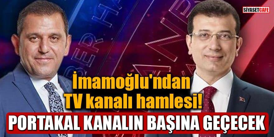 İmamoğlu'ndan TV kanalı hamlesi! Portakal yönetiminin başına geçecek