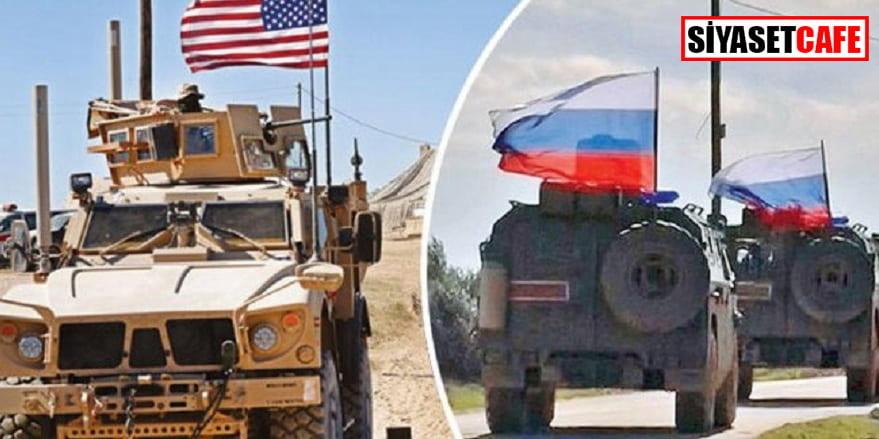 Suriye'de ABD ve Rus askerlerinin tehlikeli yakınlaşması