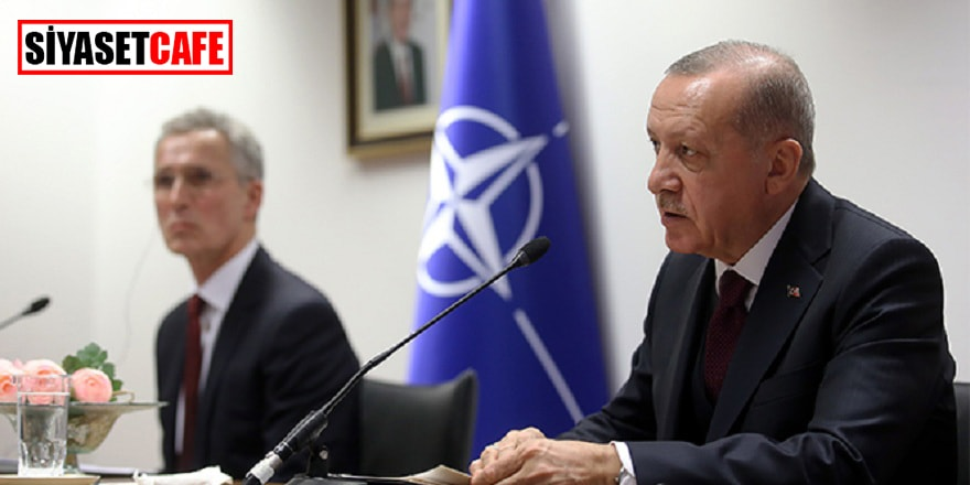 Cumhurbaşkanı NATO Genel Sekreteri ile görüştü