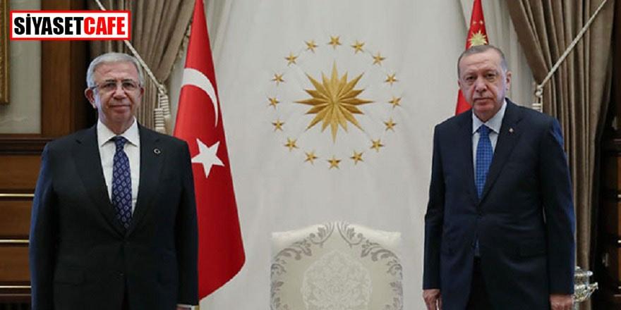 Cumhurbaşkanı Erdoğan ile Ankara Belediye Başkanı Yavaş bir araya geldi