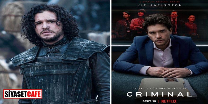 Kit Harington hayranları yeniden ekran başına! GOT'un Jon Snow'u Netflix'in sevilen dizisi Criminal'da