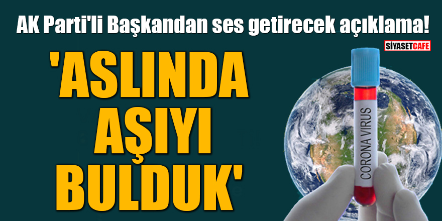 AK Parti'li Başkan Fatma Şahin'den ses getirecek açıklama:  'Aslında aşıyı bulduk'