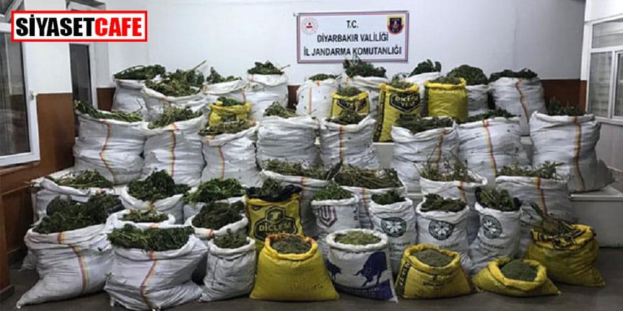 Diyarbakır'da geniş çaplı narko terör operasyonu