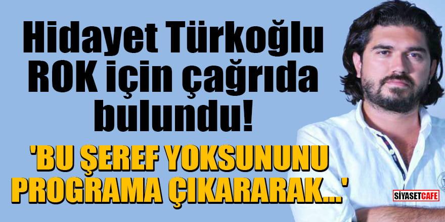 Hidayet Türkoğlu, ROK için çağrıda bulundu! 'Bu şeref yoksununu programa çıkararak...'