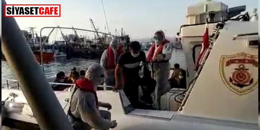Türk denizcileri 48 sığınmacıyı kurtardı