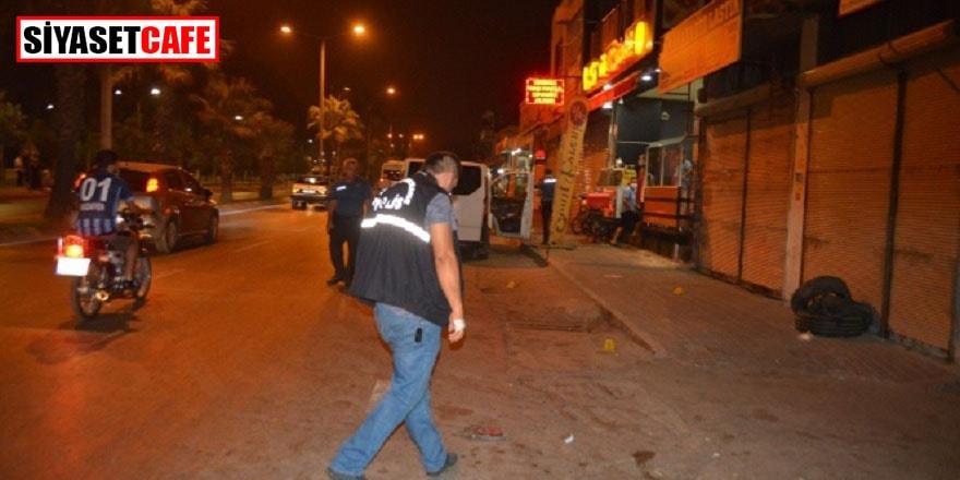Sırtından vurulan kişi, motosikletine binip polise sığındı