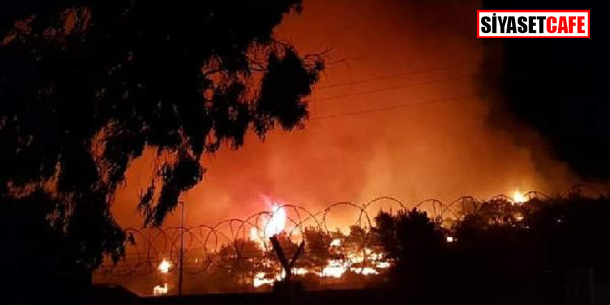 Ayvalık'ta büyük yangın: 80 hektar alan yandı