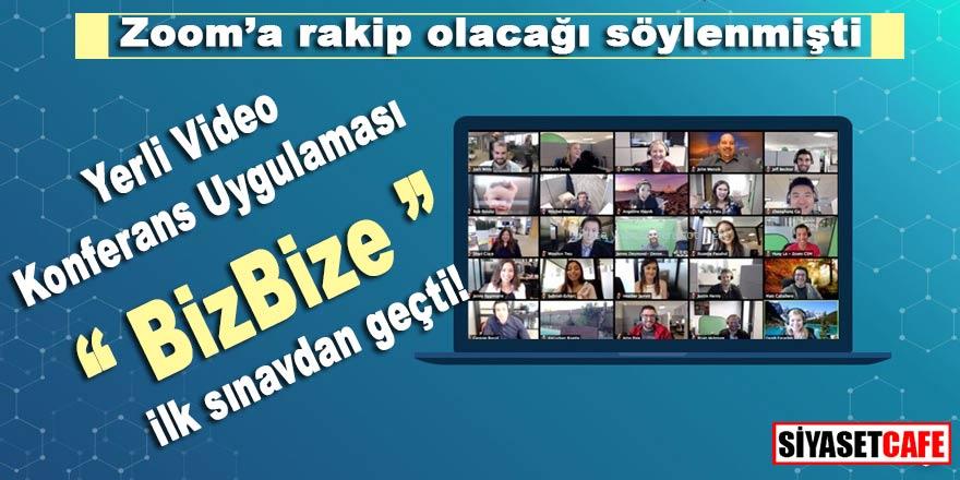 """Zoom'a rakip olarak gösterilmişti, yerli video konferans uygulaması """"BizBize"""" ilk sınavları geçti.."""