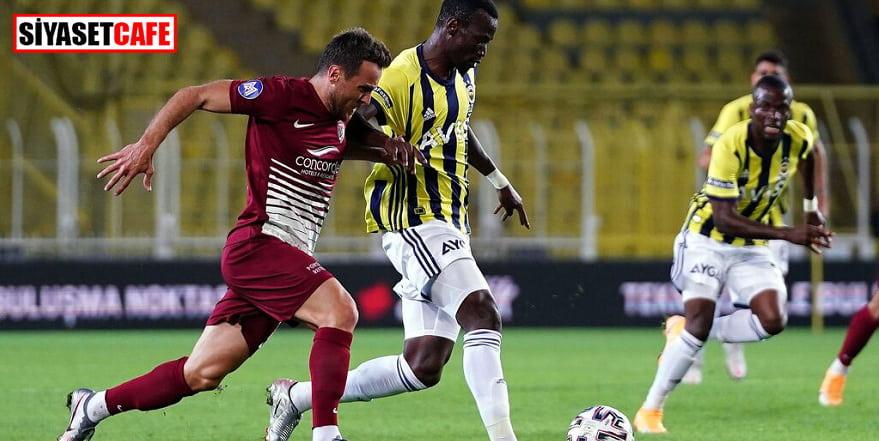 Fenerbahçe evinde Hatayspor'a 2 puan bıraktı: 0-0