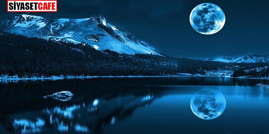 """NASA açıklama yapmıştı, """"Mavi dolunay"""" için geri sayım başladı. Mavi dolunay ne zaman gerçekleşecek?"""