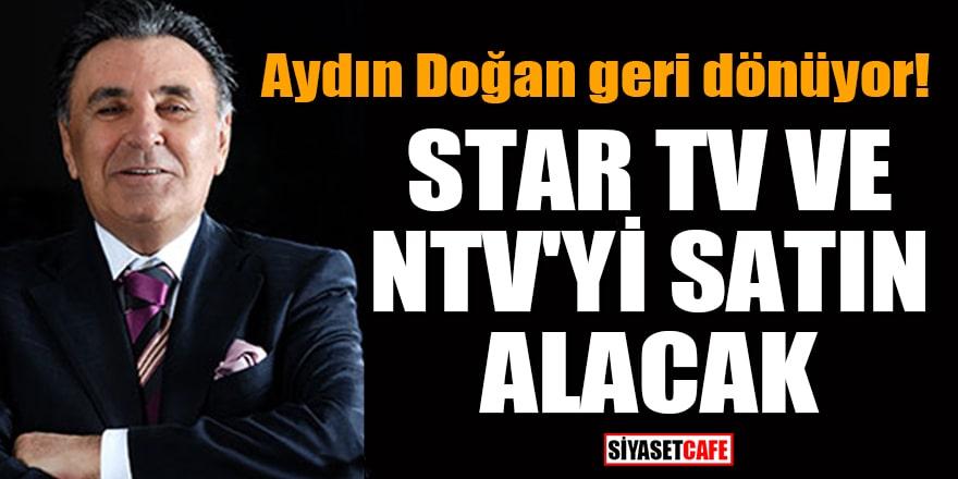 Aydın Doğan, 'Star TV ve NTV'yi satın alacak' iddiası