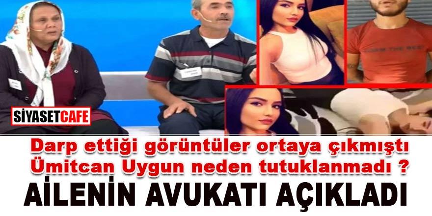 Ümitcan Uygun'un Aleyna Çakır'ı darp ettiği görüntüler ortaya çıkmıştı. Peki neden tutuklanmadı?