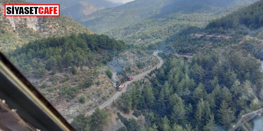 Hatay'da bugünkü orman yangınlarının zanlısı yakalandı