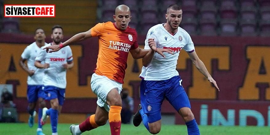 Galatasaray Avrupa'daki yoluna Hajduk Split'i devirerek devam etti: 2-0