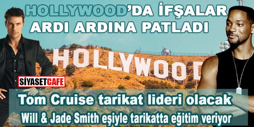 """Hollywood'da ifşalar ardı ardına patladı: """"Tom Cruise tarikat lideri olacak, Will Smith tarikat okulunda eğitim veriyor"""""""