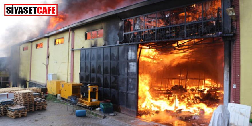 Tokat'ta bir alışveriş merkezinde büyük yangın!
