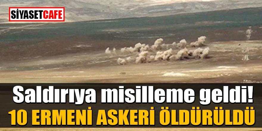 Azerbaycan, saldırı sonrası yaptığı misillemede 10 Ermeni askerini öldürdü