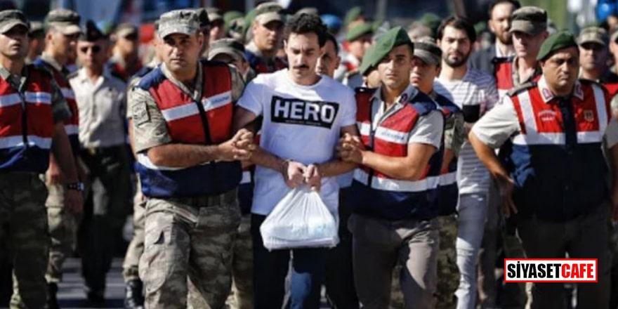 'HERO' tişörtlü FETÖ'cü beraat etti!