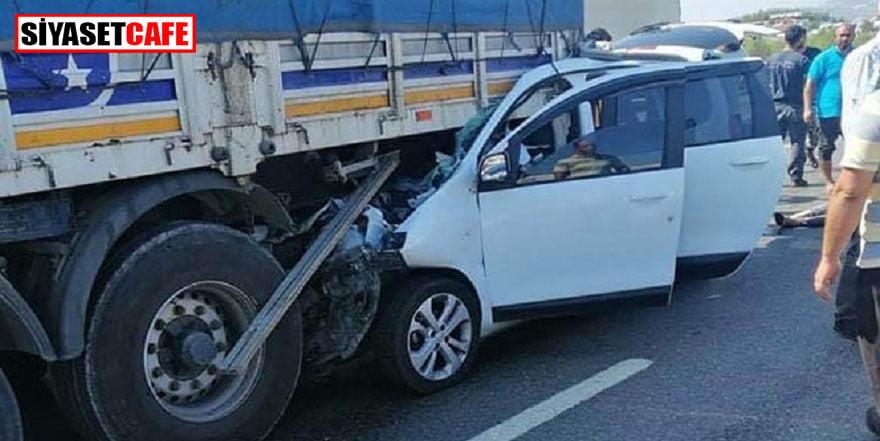 Gaziantep'te 3 ölümlü kaza
