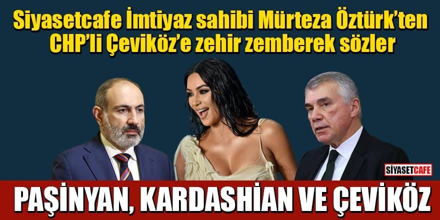 Mürteza Öztürk'ten Ünal Çeviköz'e çok sert eleştiri