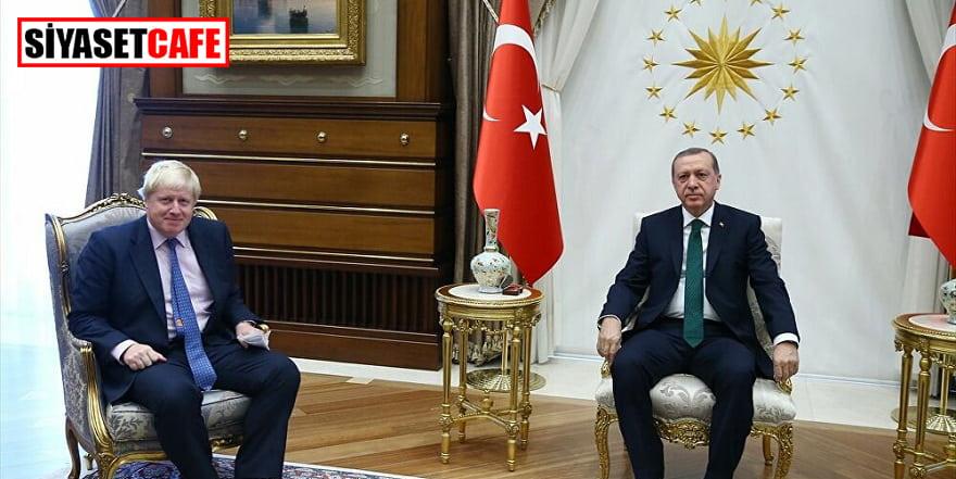 Erdoğan, Boris Johnson ile telefonda görüştü