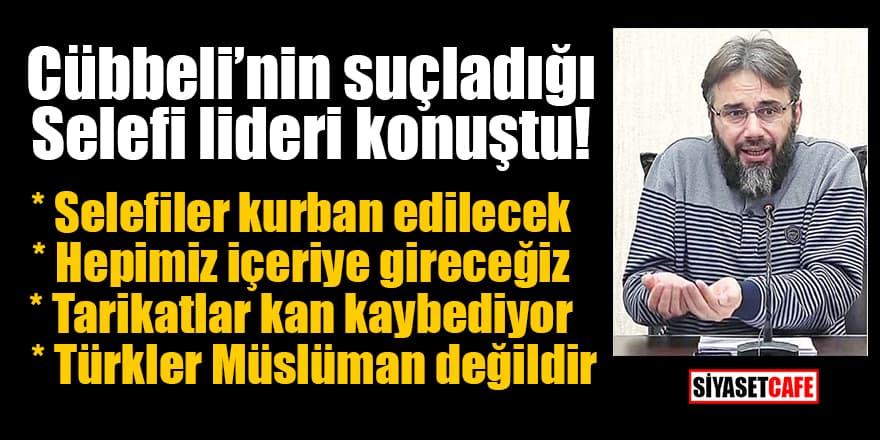 Cübbeli'nin suçladığı Selefi lideri Murat Gezenler konuştu!