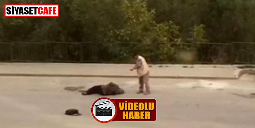 Bursa'da 55 yaşındaki eşini sokakta vurdu