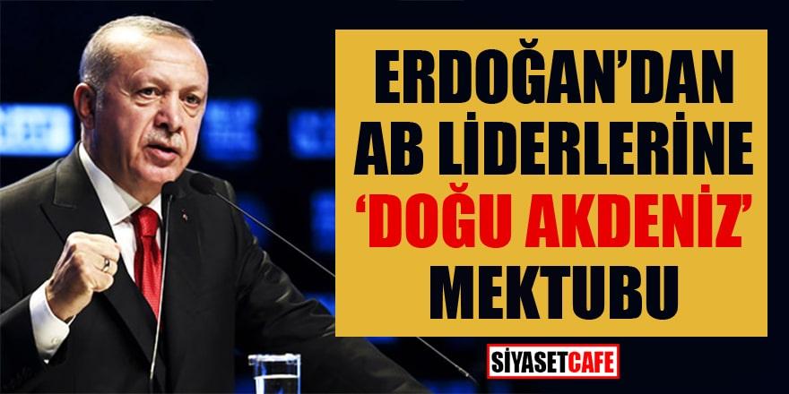 CumhurbaşkanıErdoğan'dan AB liderlerine 'Doğu Akdeniz' mektubu