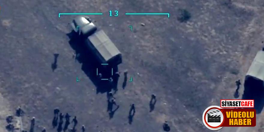 Azerbaycan vurdu! Ermeni askerler çil yavrusu gibi dağıldılar