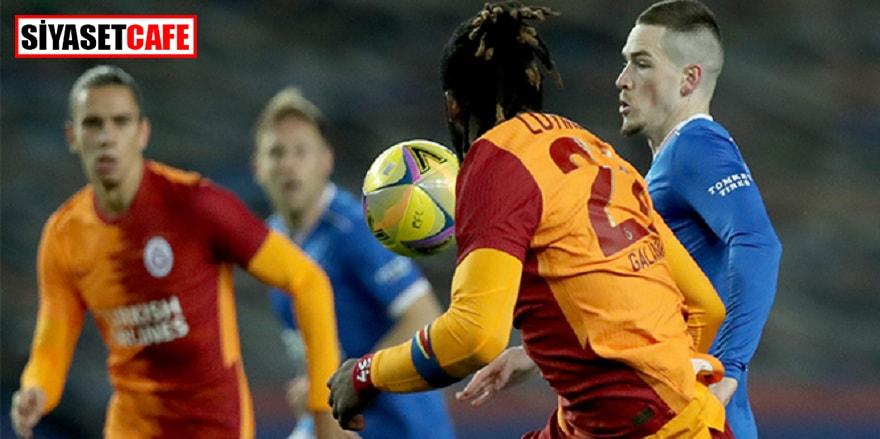 Galatasaray'dan Avrupa'ya acı veda: 2-1