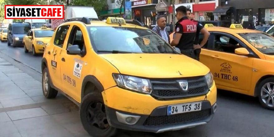 Taksi duraklarına polisten baskın: 18 gözaltı