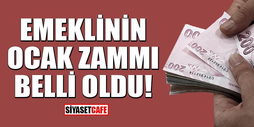 Emekliye 286 lira zam! 2021 zamlı emekli maaşları ne kadar olacak?