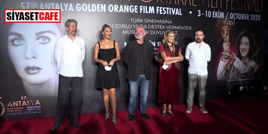 Koronavirüs gölgesinde Altın Portakal Film Festivali açılışı