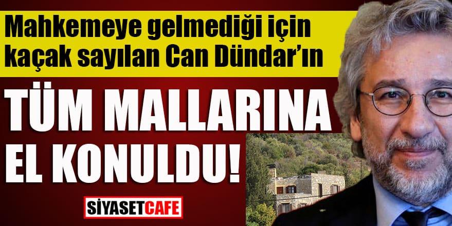 Gazeteci Can Dündar'ın bütün mallarına el konuldu
