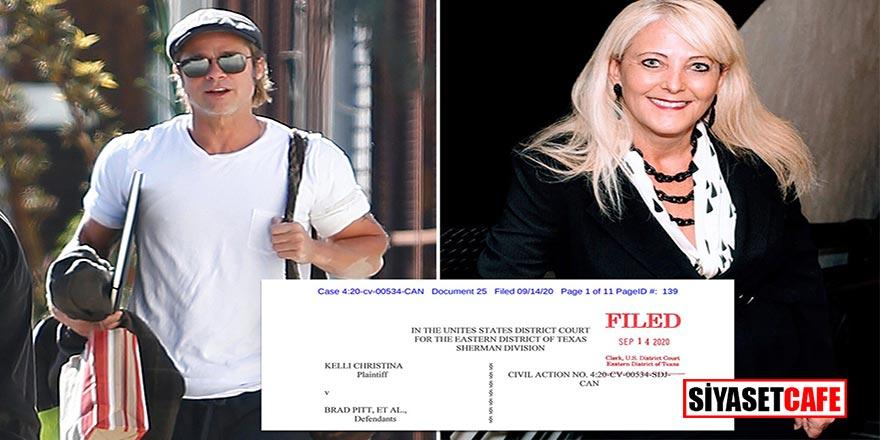 Böyle iddia görülmedi…Brad Pitt beni evlilik vaadiyle dolandırdı!