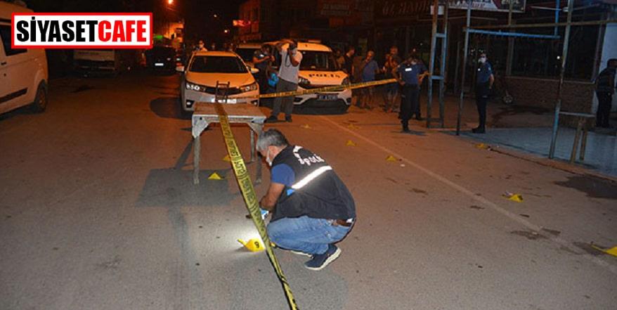 Restoran çıkış silahlar konuştu:  2 yaralı