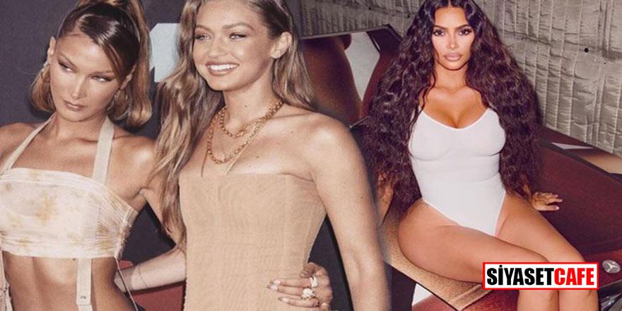 Ermenistan'a 1 milyon dolarlık yardım eden Kim Kardashian'a Hadid kardeşlerden tepki