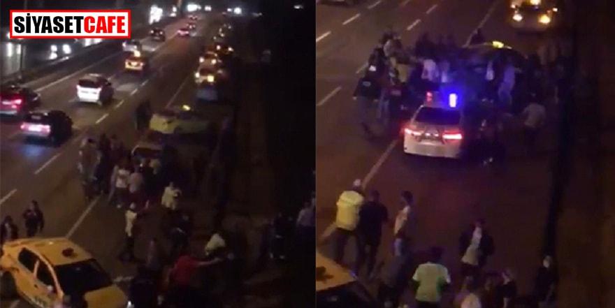 Esenyurt'ta taksicilerin kavgası bitmedi