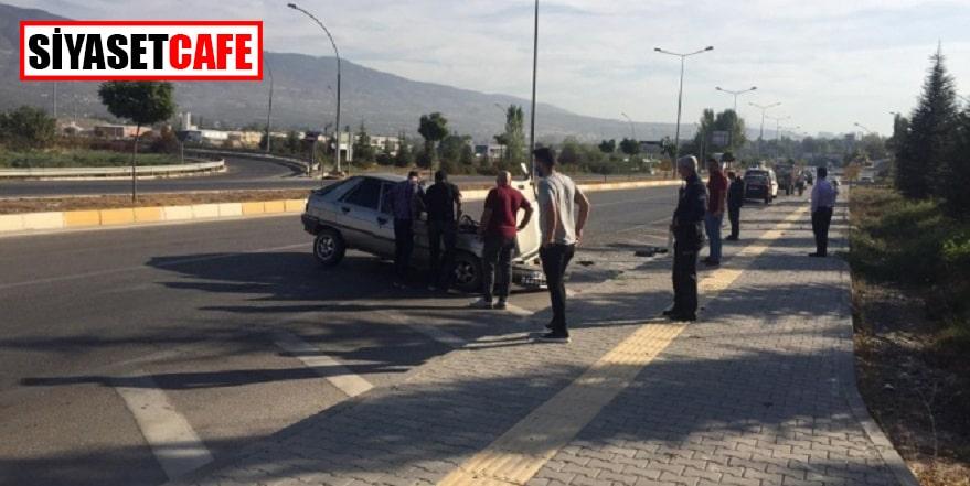 Tokat'ta baba ile oğulu kaza ayırdı