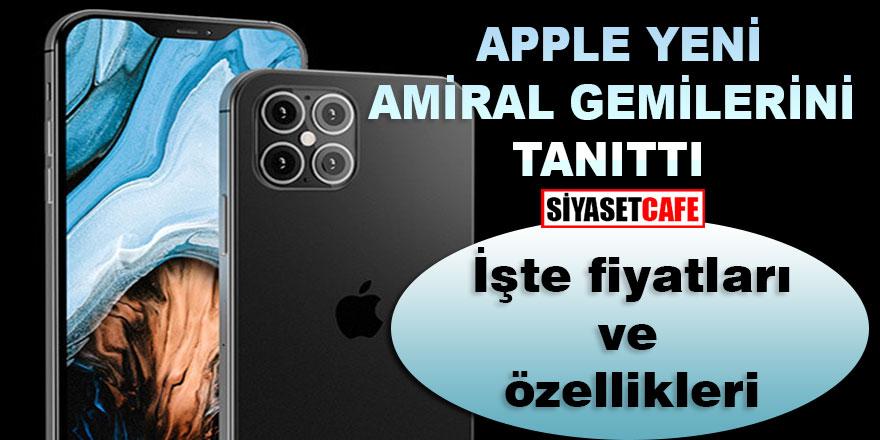 Apple yeni amiral gemisi iPhone12'yi tanıttı