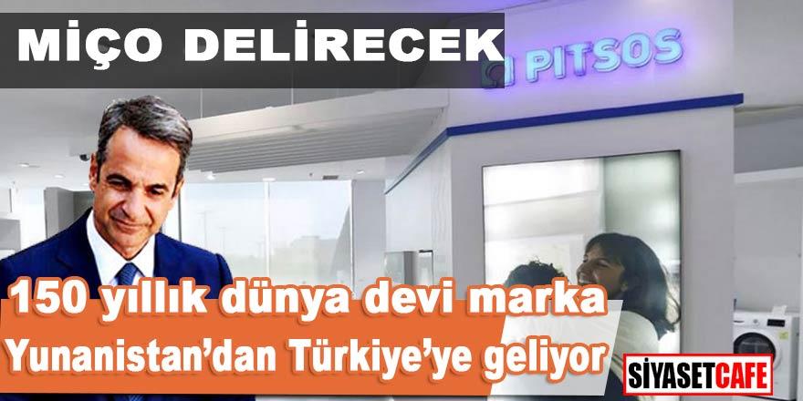 Yunan beyaz eşya firması Pitsos'un , üretimini Türkiye'ye taşıyacağı açıklandı
