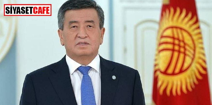 Kırgızistan Cumhurbaşkanı istifa ettiğini açıkladı