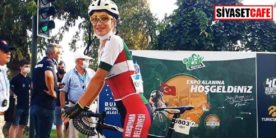 Kamyon bisiklet sporcusunu biçti, kaza büyük üzüntü yarattı