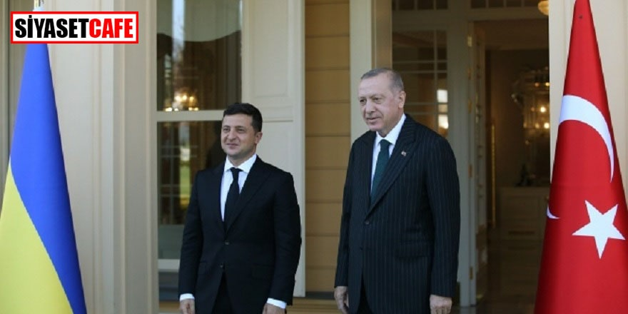 Erdoğan Ukrayna Devlet Başkanı ile görüşüyor