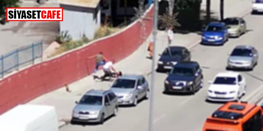 Antalya Işıklar'da maganda saldırısı