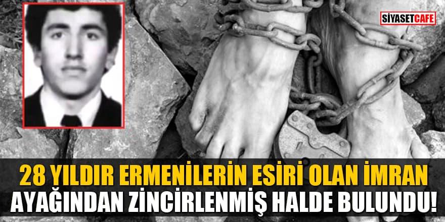 28 yıldır Ermenilerin esiri olan Şamhalov İmran ayağından zincirlenmiş halde bulundu!