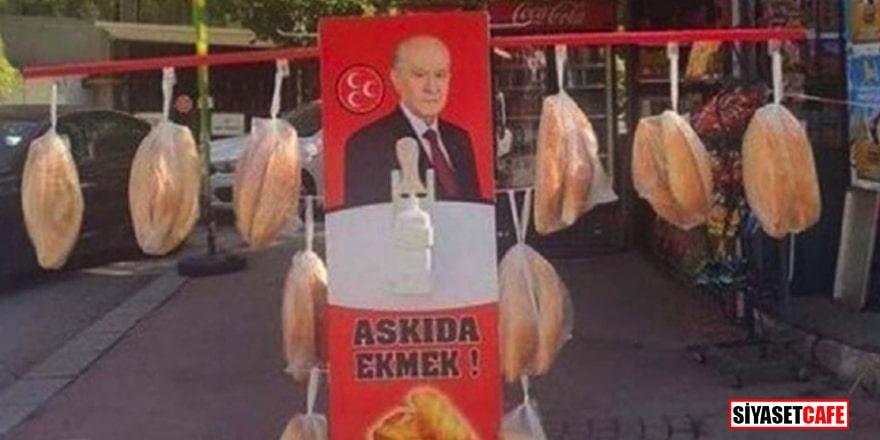 MHP'den ekmek fiyatlarındaki artışa tepki olarak 'askıda ekmek' kampanyası